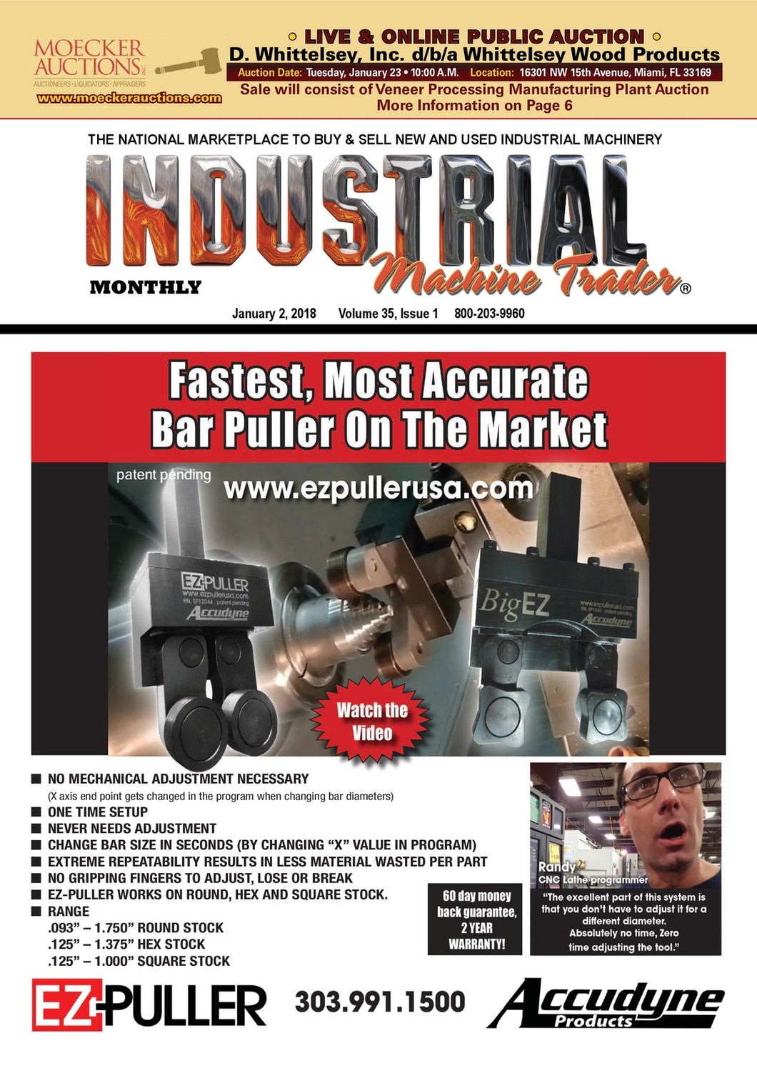 Industrial Machine Trader Monthly
