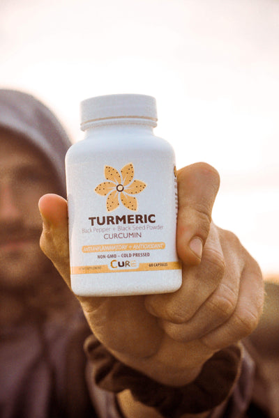 VEGAN Turmeric + Black Seed Powder Capsules