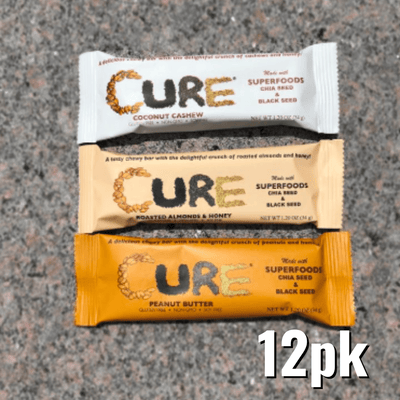 Cure Bars Subscriptions - 12 Pack