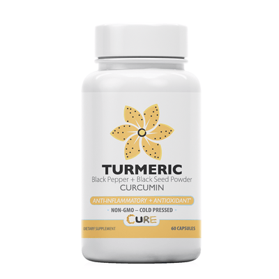 Halloween Sale: VEGAN Turmeric + Black Seed Powder Capsules