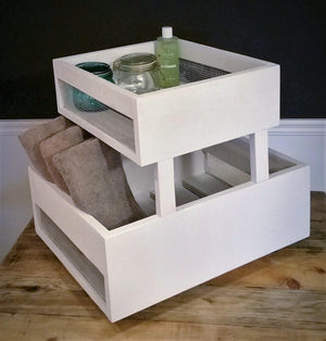 Crate Cart, Bathroom Shelf, Toys, Kitchen, Storage - Crate Cart