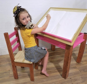 Kids Art Desk, Drafting, Activity Table