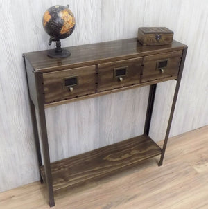 Entry Table with Drawers