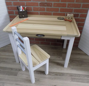 Kids Desk with Single Drawer, Childrens