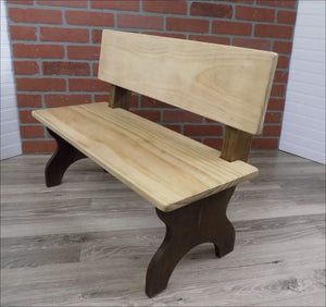 Kids Bench, Personalized, Time Out, Thinking Spot. - Kids Tables