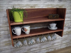 Kitchen Shelf, Coffee, Tea Cups - Shelf
