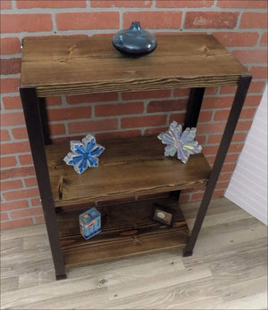Rustic Industrial Bookshelf - Shelf