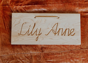 Cursive Name Tracing Board