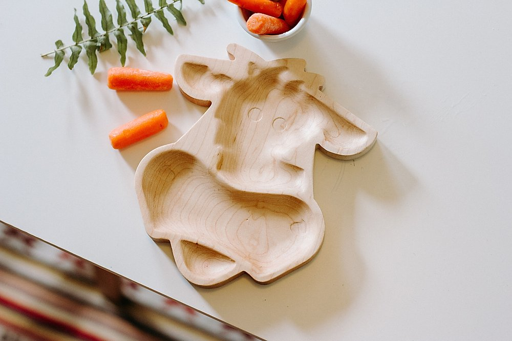 Maple Cow Plate