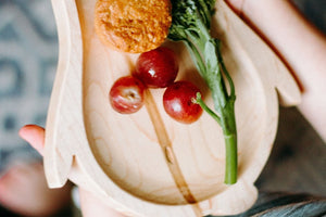 Maple Penguin Plate