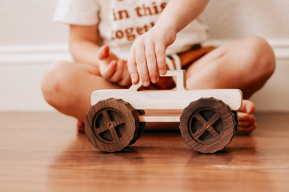 Wooden Monster Truck