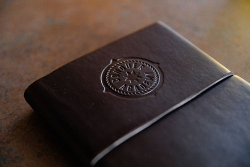 Italian Leather Pocket Journal