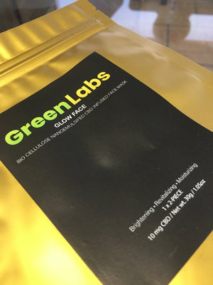 Green Labs Health CBD Infused Face Mask