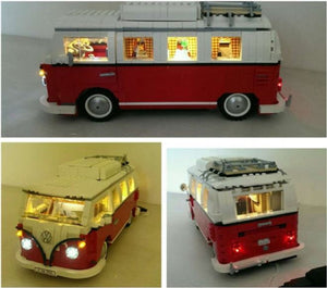 New LED Light Kit for Lego 10220 Volkswagen T1 Camper bricklite  usb powered