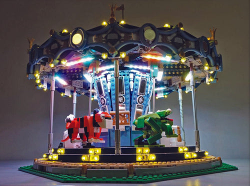 Led light set for lego Carousel 10257 Lighting Kit