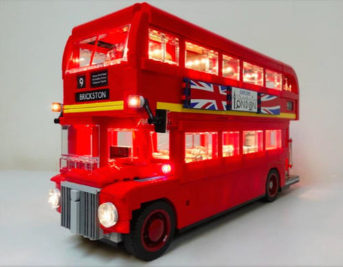 LED Light Kit for Lego 10258 London Bus set usb powered