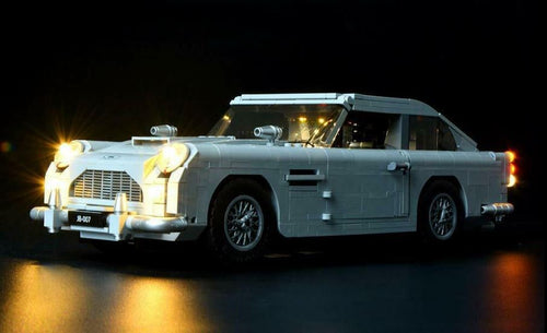 Light Kit for LEGO 10262 Aston Martin DB5