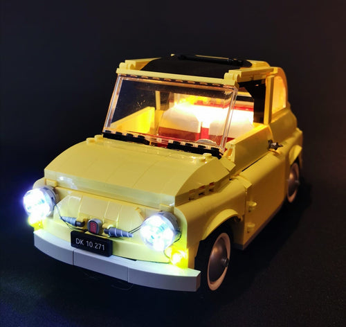 LED Lighting Kit for Lego 10271 Creator Fiat 500