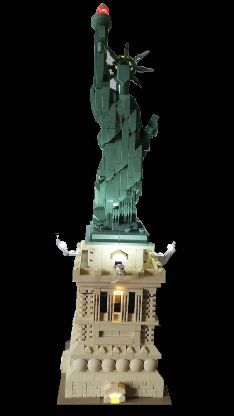 Light Kit for Lego Statue of Liberty 21042