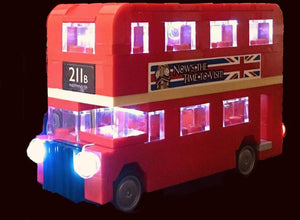 LED Light Kit for Lego London Bus 40220 USB Powered