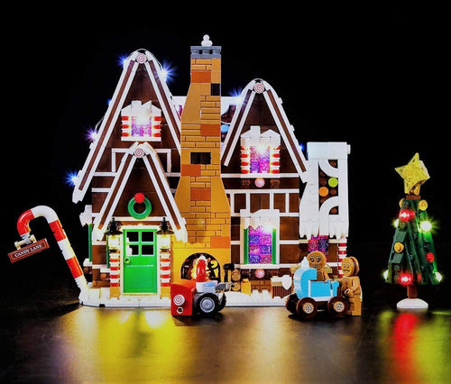 LED Lighting Kit for Lego 10267 Creator Winter Village Gingerbread House