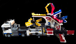 LED Light Kit for Lego Fairground Mixer 10244