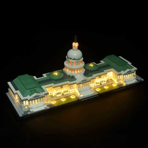 Light Kit for Lego 21030 Architecture United States Capitol Building