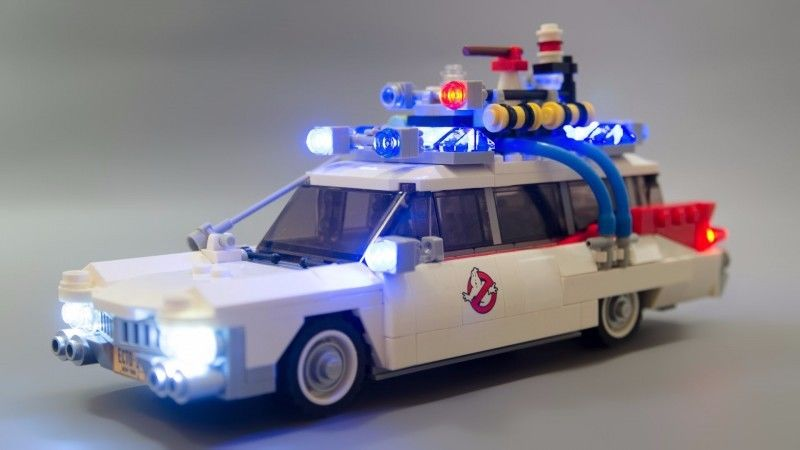Light Kit for Lego 21108 Ghostbusters Ecto-1