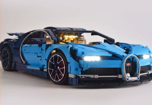 LED Light Kit for TECHNIC Bugatti Chiron Model Lego 42083