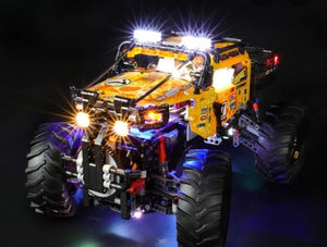 LED Lighting Kit for Lego 4X4 X-treme Off-Roader 42099 Technic