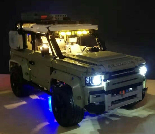 Lighting Kit for Lego 42110 Technic Land Rover Defender