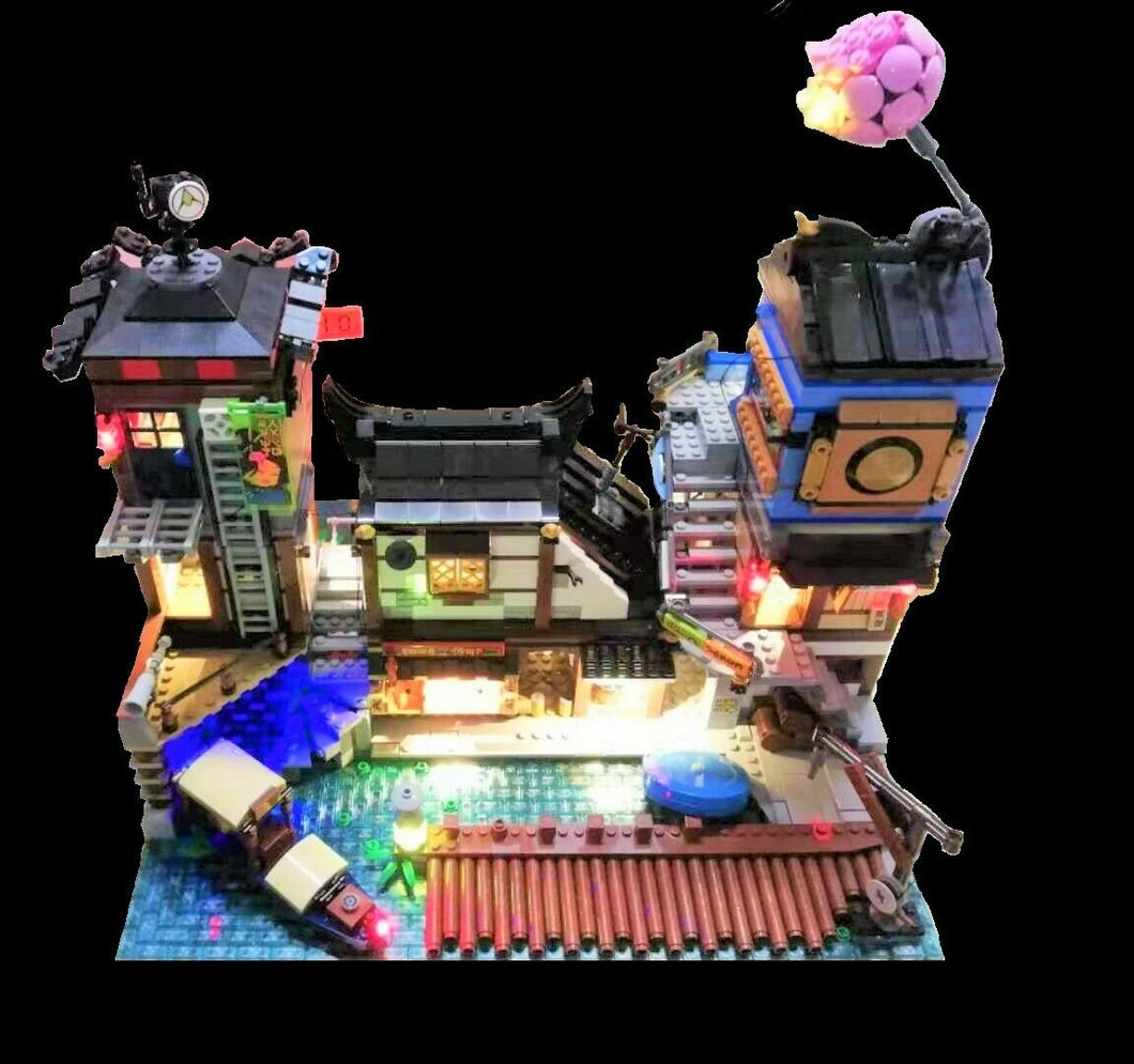 LED Lighting Kit for Lego 70657 Ninjago City Docks