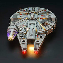 Lighting kit for Lego Millennium Falcon 75257