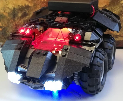 LED Lighting Kit for Lego App-Controlled Batmobile 76112 DC Super Heroes