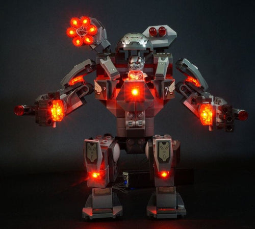 Light Kit For Lego War Machine Buster 76124