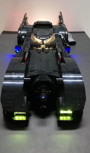 LED Lighting Kit for Lego 76139 DC Super Heroes 1989 Batmobile