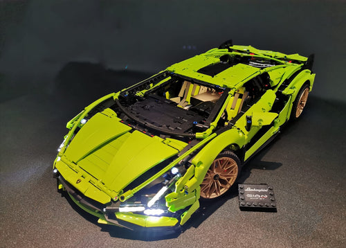 LED Lighting Kit for Lego 42115 Technic Lamborghini Sián FKP 37
