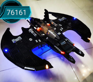LED Lighting Kit for LEGO1989 Batwing DC 76161 batman