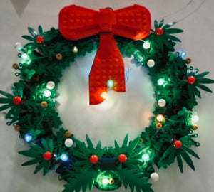 LED Lighting Kit for Lego 40426 Christmas Wreath 2-in-1