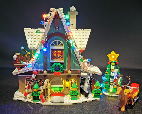 LED Lighting Kit for Lego Elf Club House 10275