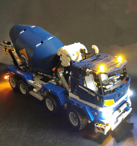 Lighting Kit for Lego Technic Concrete Mixer Truck 42112