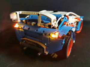 LED Lighting Kit for Lego Technic Rally Car 42077