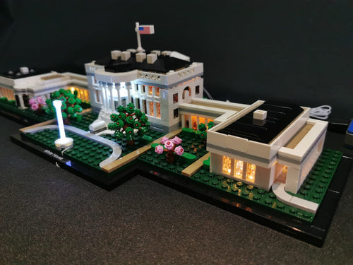 LED Lighting Kit for Lego The White House 21054