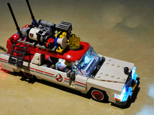 LED Lighting Kit for Lego Ghostbusters Ecto-1 & 2 75828
