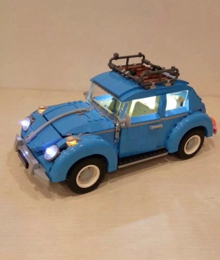 New LED Light Kit for Lego 10252  VOLKSWAGEN Beetle usb powered bricklite