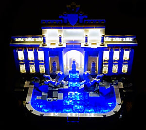 Light Kit Trevi Fountain Lighting Kit for Lego 21020 usb powered