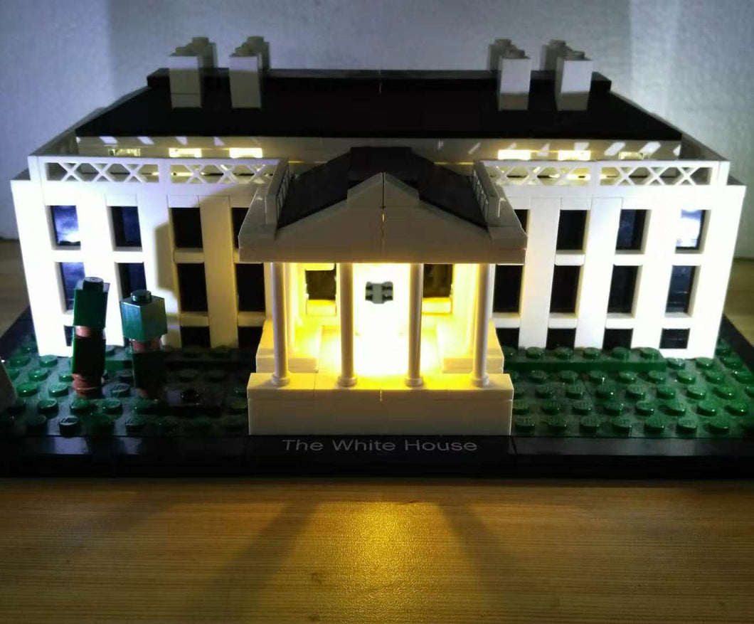 LED Light Kit for Lego 21006 The White House