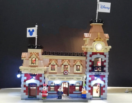 Lighting Kit for Lego 71044 Disney Train and Station
