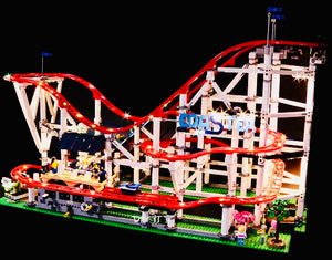 Light Kit for Lego Creator Roller Coaster 10261