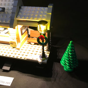 LED Light Kit for Lego 10259 Winter Village Station